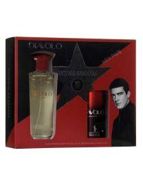 Diavolo мъжки комплект, тоалетна вода и парфюм-дезодорант