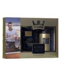 King Of Seduction Absolute мъжки комплект, тоалетна вода и парфюм-дезодорант