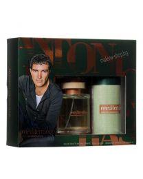 Mediterraneo мъжки комплект, тоалетна вода и парфюм-дезодорант