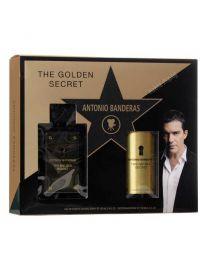 The Golden Secret мъжки комплект, тоалетна вода и парфюм-дезодорант