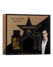 The Golden Secret мъжки комплект, тоалетна вода и афтършейв балсам