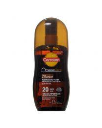 Omega Care Tan & Protect 20 SPF  Слънцезащитно олио за придобиване на тен