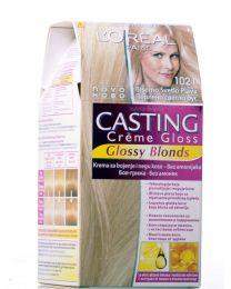 Casting Crème Gloss боя за коса без амоняк /1021 перлено светло русо/
