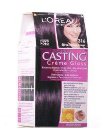 Casting Crème Gloss боя за коса без амоняк /316 синя слива/