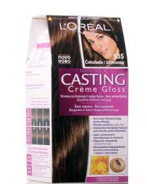 Casting Crème Gloss боя за коса без амоняк /535 шоколад/