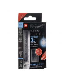 X-Treme Gel Effect Top Coat 3x топ лак