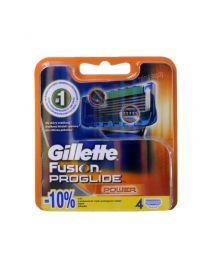 Gillette Fusion ProGlide Power резервни ножчета за бръснене, опаковка от 4 броя.