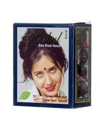 Henna - къна за коса, синьо черна