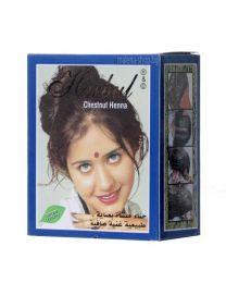 Henna - къна за коса, кестенява
