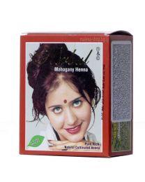 Henna - къна за коса, махагон