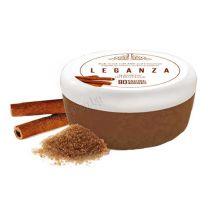 Leganza захарен скраб за тяло, с мляко и канела