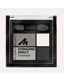 Eyemazing effect сенки за очи, четири цвята /109A Smokey Smile/