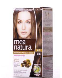 Mea Natura боя за коса /6.7 кафе/
