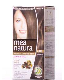 Mea Natura боя за коса /6.88 шоколад/