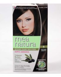 Mea Natura боя за коса /5 светъл кестен/