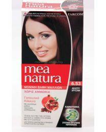 Mea Natura боя за коса /6.53 златен махагон/