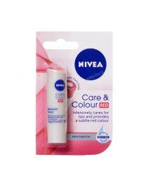 Care & Colour Red балсам за устни