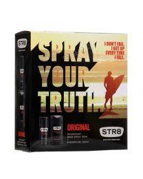 Original  Мъжки подаръчен комплект, парфюм-дезодорант + душ гел