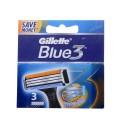 Blue 3 резервни ножчета за бръснене, опаковка от 3 броя