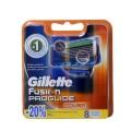 Fusion ProGlide Power резервни ножчета за бръснене, опаковка от 8 броя