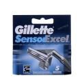 Sensor Excel резервни ножчета за бръснене, опаковка от 5 броя