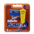 Fusion резервни ножчета за бръснене, опаковка от 8 броя