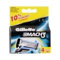 Mach 3 резервни ножчета за бръснене, опаковка от 4 броя