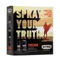 Freedom Мъжки подаръчен комплект, парфюм-дезодорант + душ гел