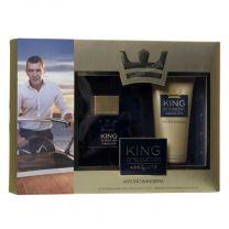 King Of Seduction Absolute мъжки комплект, тоалетна вода и афтършейв балсам