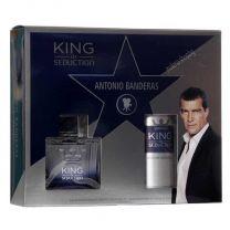 King Of Seduction мъжки комплект, тоалетна вода и парфюм-дезодорант