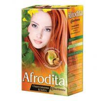 Afrodita Color Henna - оцветяваща къна Афродита /5 бургунди червено/