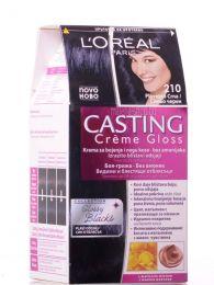 Casting Crème Gloss боя за коса без амоняк /210 синьо-черен/