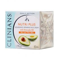 Nutri Plus Комбиниран подхранващ крем за лице, с авокадо