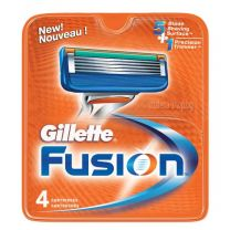 Gillette Fusion резервни ножчета за бръснене, опаковка от 4 броя.