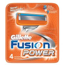 Fusion Power резервни ножчета за бръснене, опаковка от 4 броя