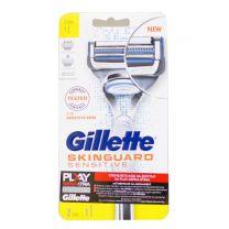 Gillette SkinGuard Sensitive самобръсначка с подвижна глава и резервно ножче