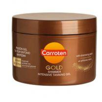 Gold Shimmer гел за потъмняване с блестящи перли