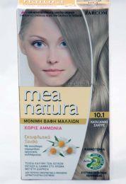 Mea Natura боя за коса /10.1 пепелно екстра светло русо/