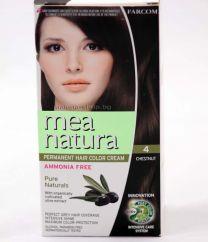 Mea Natura боя за коса /4 кестен/