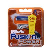 Fusion Power резервни ножчета за бръснене, опаковка от 8 броя