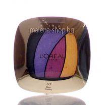 Color Riche сенки за очи, четири нюанса /S3 disco smoking/