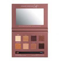 Bourjois Rue du Cafe палитра сенки за очи 02 Chocolat Nude Edition